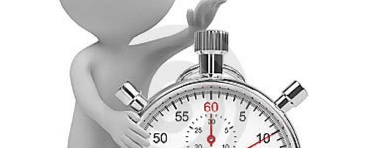 Monigote reloj