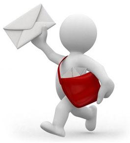 Muñeco correo